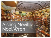 Aisling Neville & Noel Wren at Dingle Record Shop